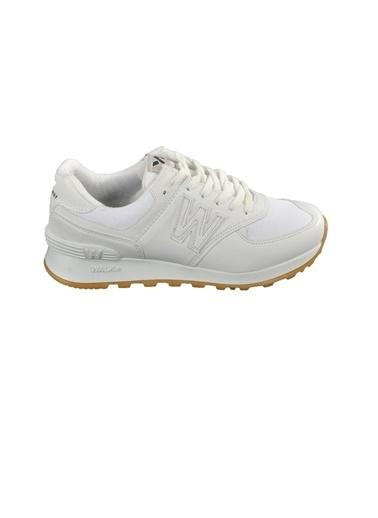 Walkway 523 Somon-Bakır Unisex Spor Ayakkabı Beyaz